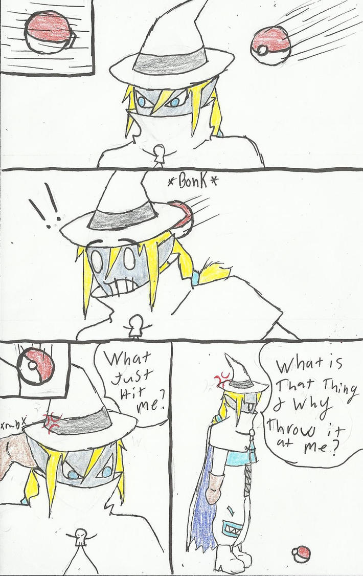 Sorcerymon Is Not A Pokemon by crazedperson
