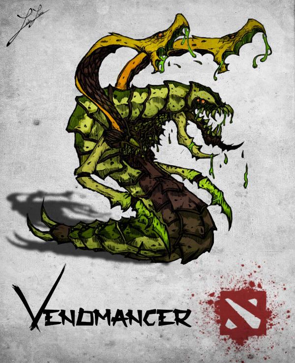 chinese style dota 2 hero venomancer by xxkazeshinixx on deviantart