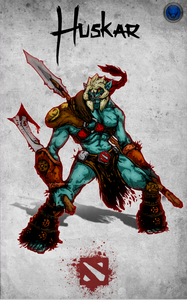 chinese style dota 2 hero huskar by xxkazeshinixx on deviantart