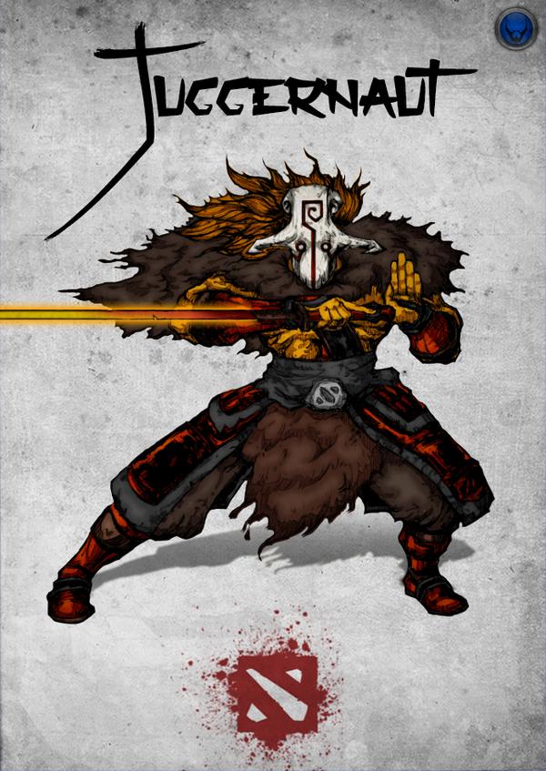 chinese style dota 2 hero juggernaut by xxkazeshinixx on