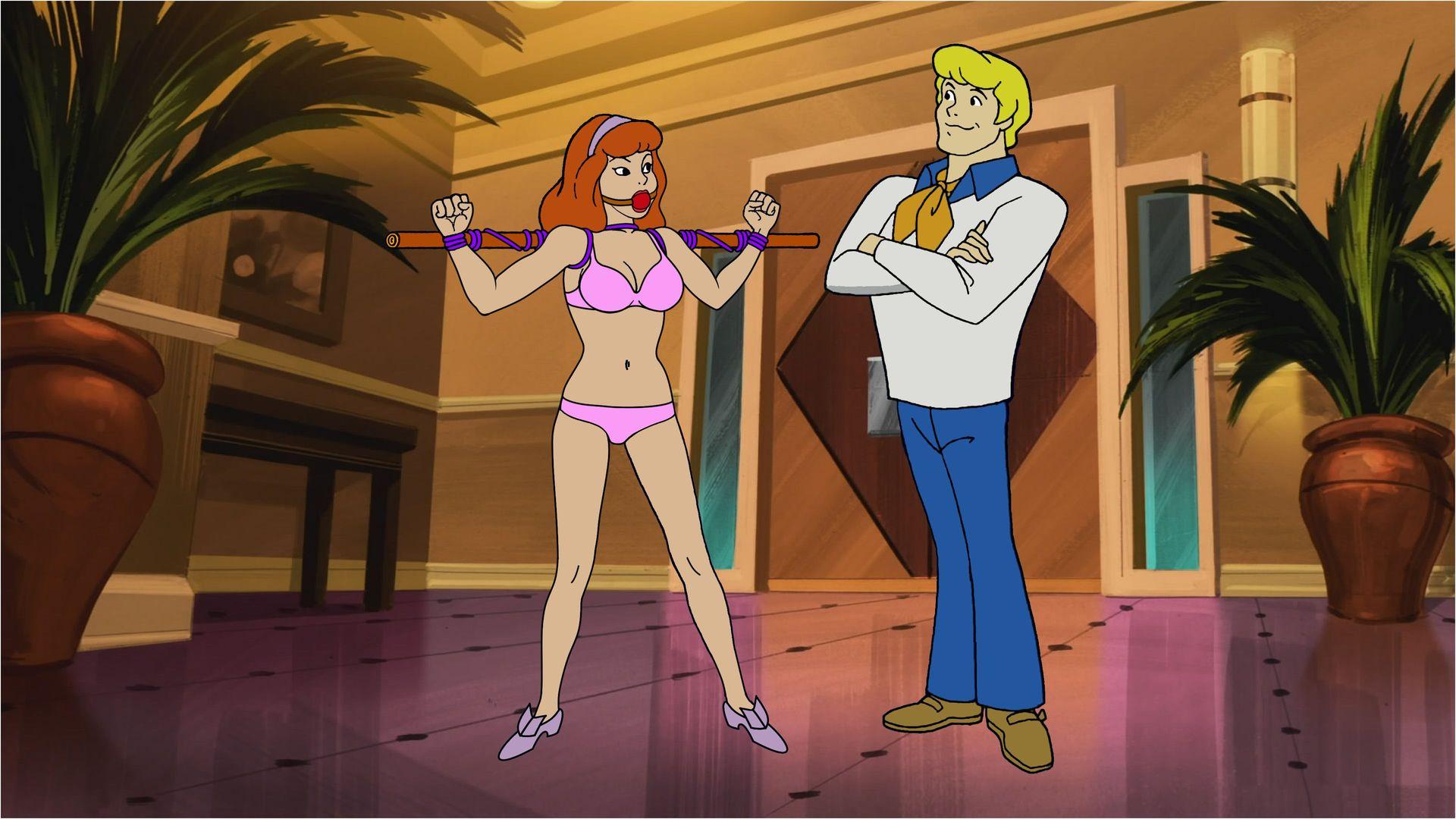 Daphne Blake and Fred Jones by VictorZulu