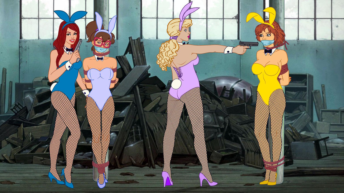 April and Irma - Playboy Investigation Gone Wrong by VictorZulu