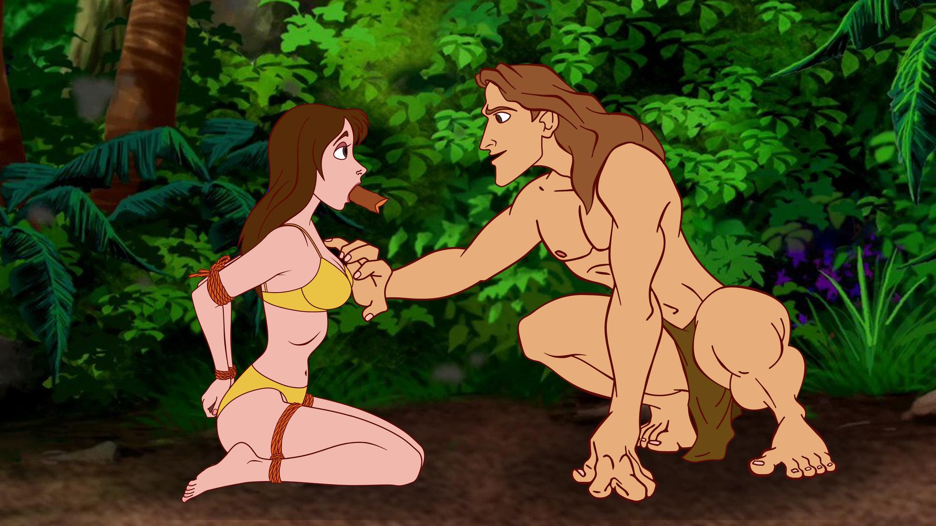 Jane Meets Tarzan by VictorZulu