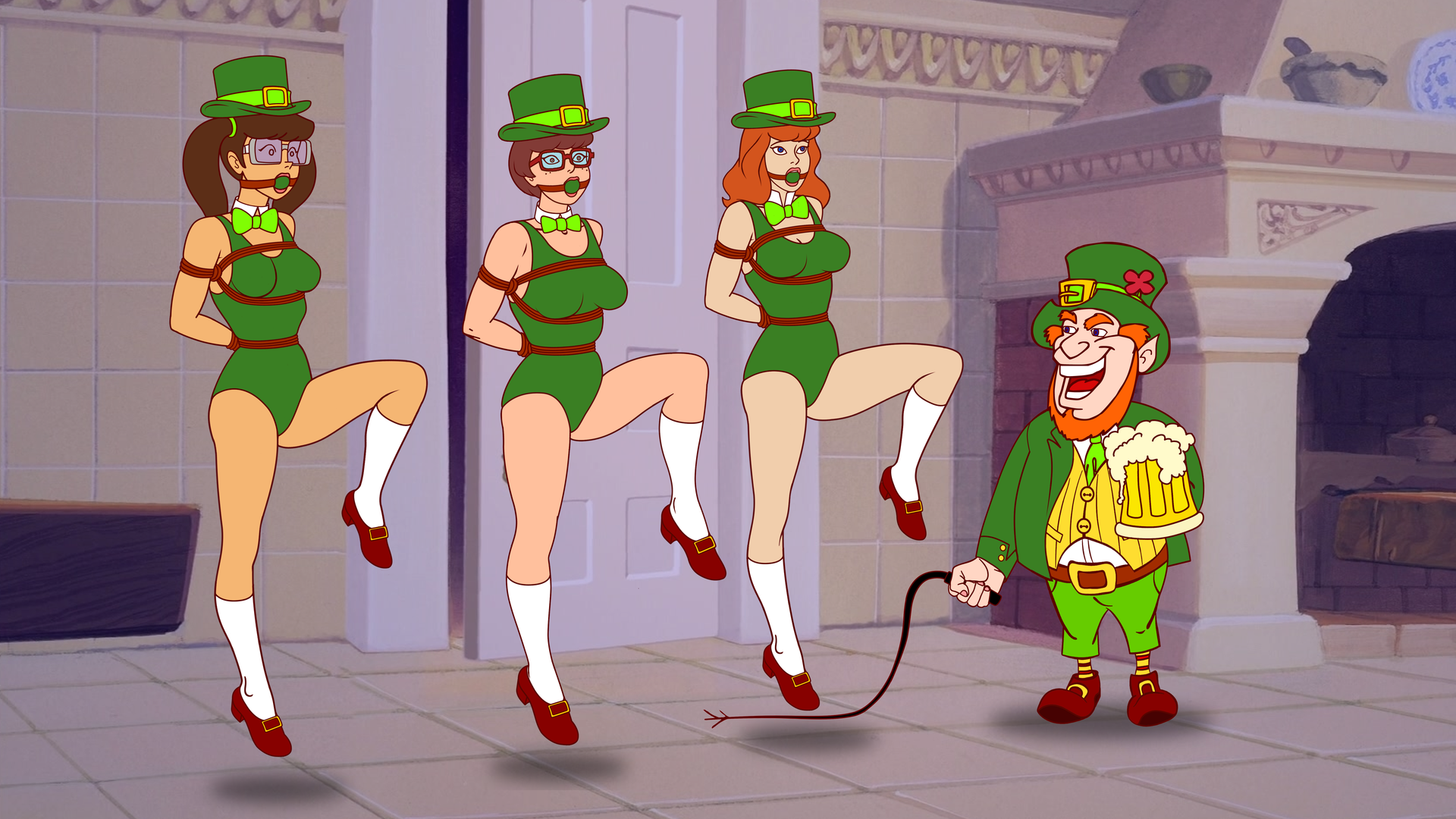 Daphne Velma and Madelyn Dance Irish Jig by VictorZulu