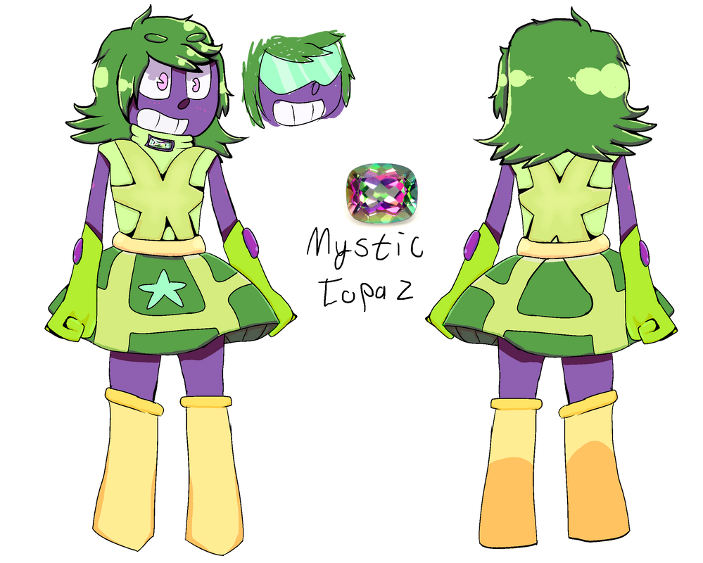 Gemsona: Mystic Topaz by Tremendous-By-Design