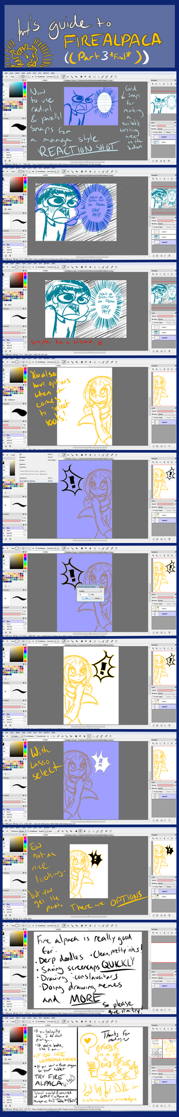 how to draw tears in firealpaca