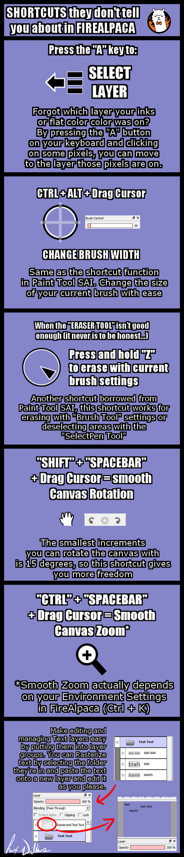 Secret FireAlpaca Shortcuts by AtsusaKaneytza on DeviantArt