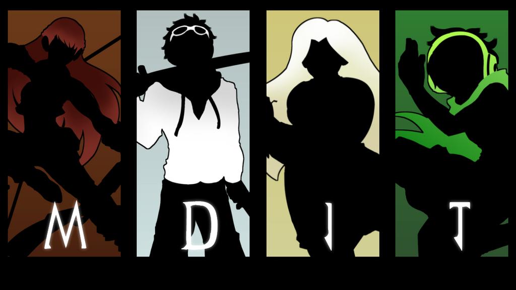Team MDIT (Silhouettes) by AtsusaKaneytza