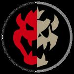 Half Bowser/Dry Bowser Mario Kart 8 emblem