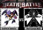 Mettaton NEO vs Super Bass death battle