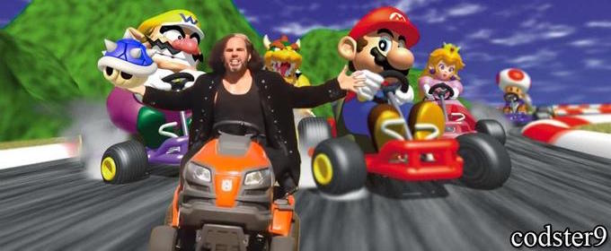 Broken Matt Hardy Kart 9 by KaminaIsLife