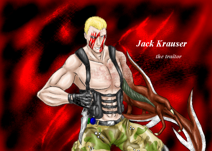 The Mercenaries - Jack Krauser by Darksaix003