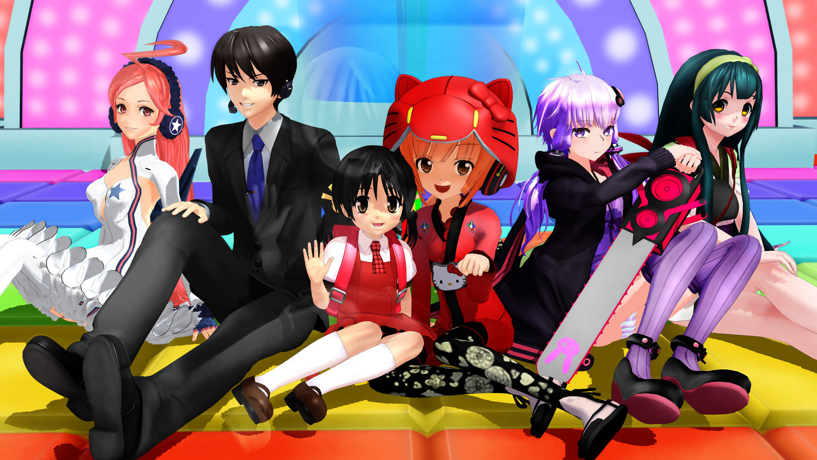MMD] AH-Software VOCALOID Family by iMACobra on DeviantArt