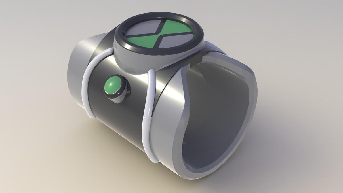 Omnitrix 3D design by mrsameero on DeviantArt