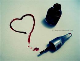 Painted Heart by dusty-soul