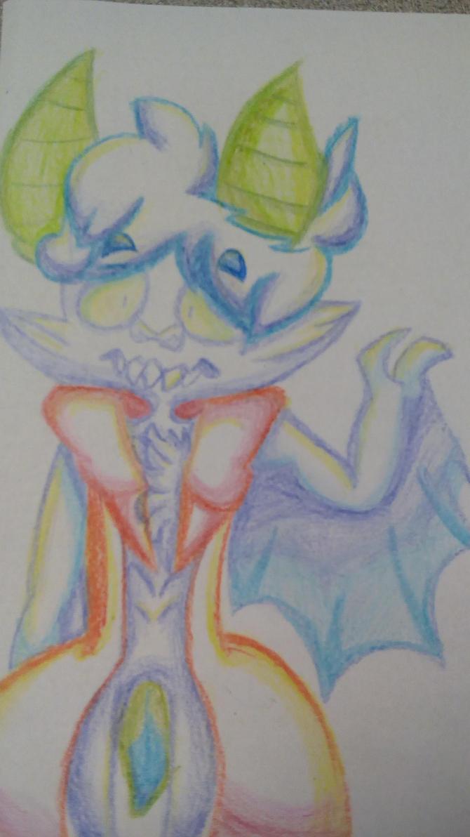 I am a bat by Prismic-Dragons