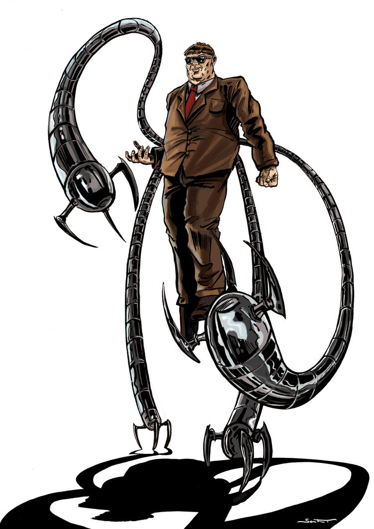 Doctor Octopus by Sombot on DeviantArt