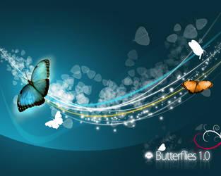 Butterflies 1 by jaguar404