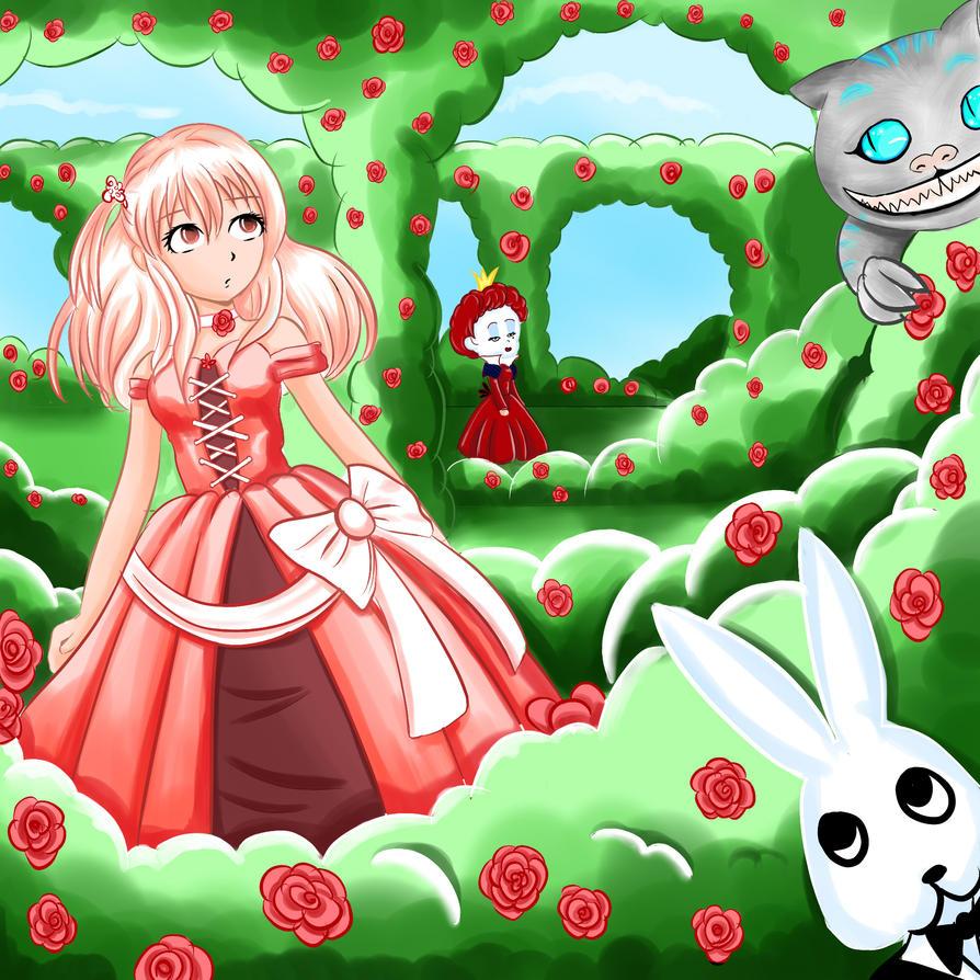 Wonderland Contest by sigroneta