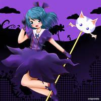 My purple world by sigroneta