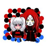Daifuku and Kabukisawa by sigroneta