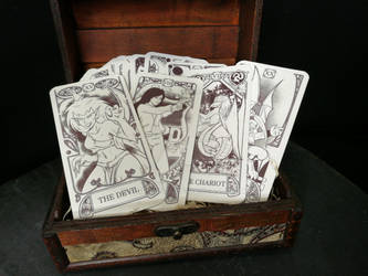 Gargoyles Tarot by sigroneta
