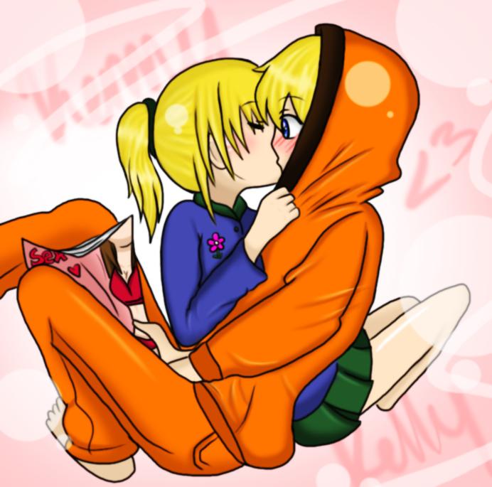 South Park Anime Kenny X Kyle Kenny x kelly by kyleluver4