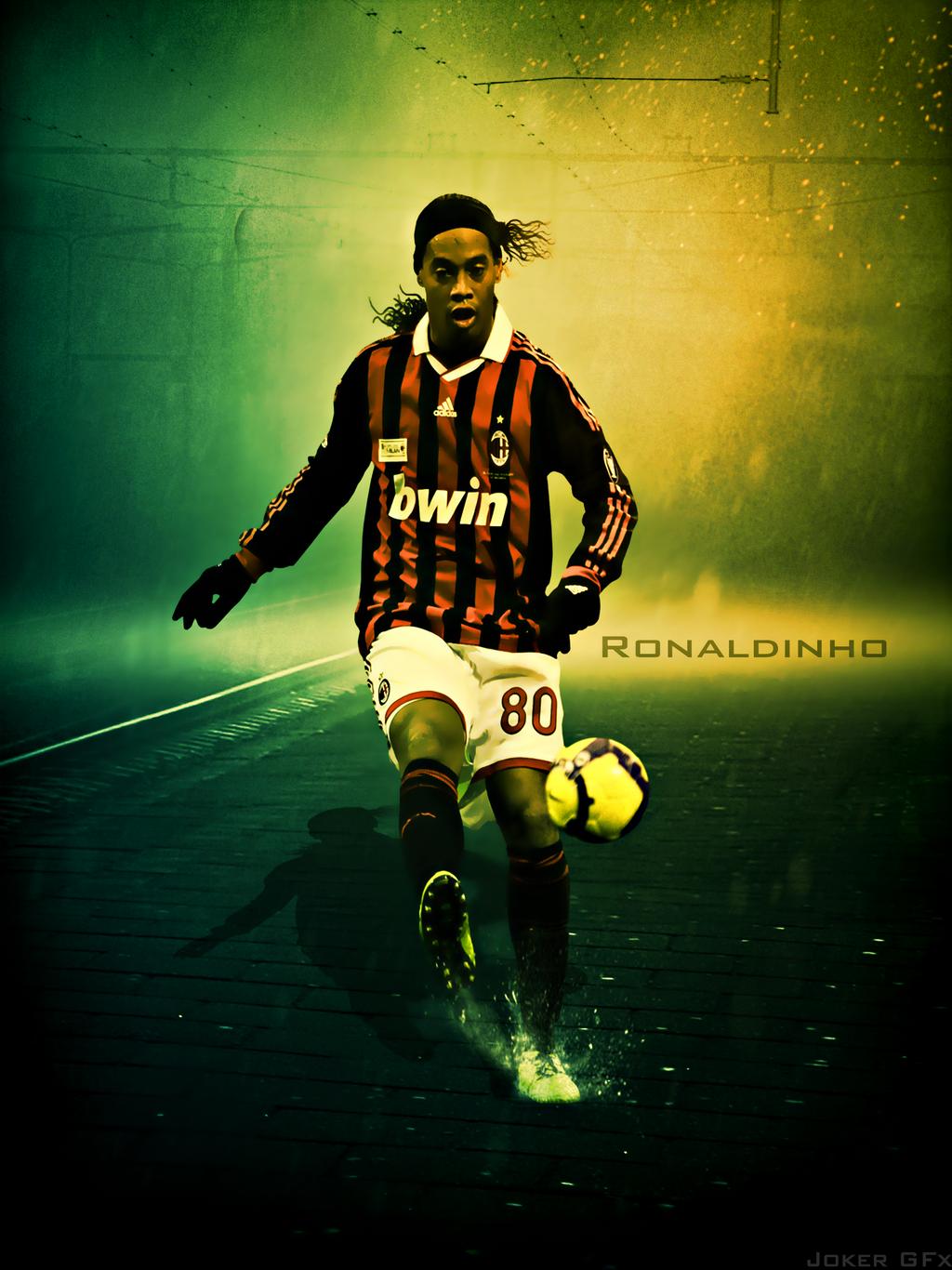 Ronaldinho wallpaper by eljokergfx on deviantart - Ronaldinho wallpaper ...
