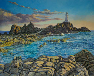 Corbiere Lighthouse, Jersey by jeffsmith1955