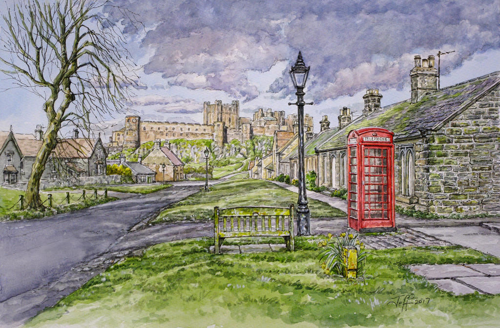Spring Evening...Bamburgh, Northumberland by jeffsmith1955