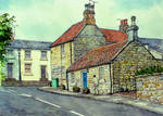 Castle Terrace, Warkworth, Northumberland