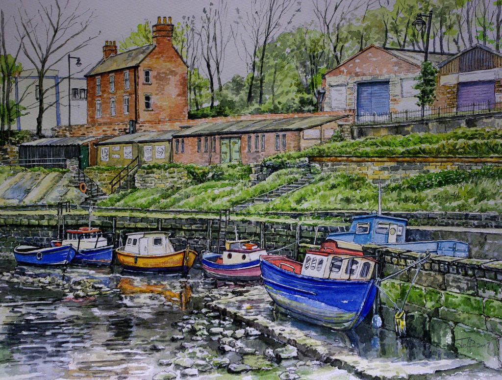 River Ouseburn, Newcastle by jeffsmith1955