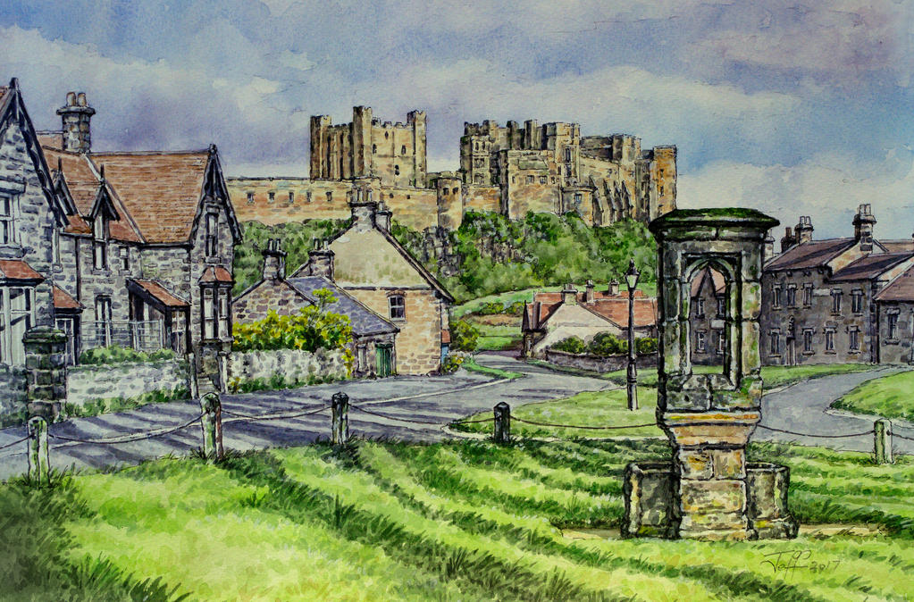 Early evening, Bamburgh by jeffsmith1955