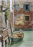 Rio del Fontego dei Tedeschi, Venice.