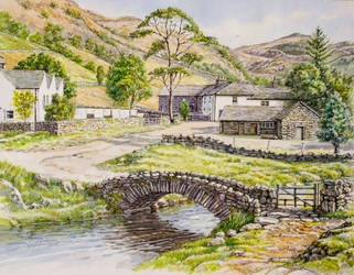 Watendlath, Cumbria by jeffsmith1955