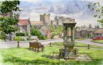 Bamburgh village, Northumberland
