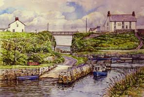 Seaton Sluice, Northumberland by jeffsmith1955