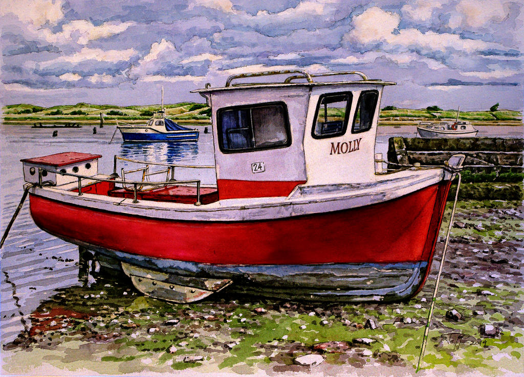 'Molly, Amble, Northumberland' by jeffsmith1955