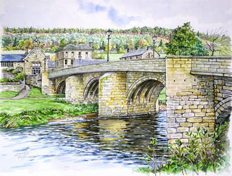Road Bridge over the River Coquet, Rothbury