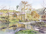 Thrum Mill, Rothbury by jeffsmith1955