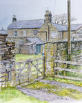 Cottages, Matfen, Northumberland by jeffsmith1955