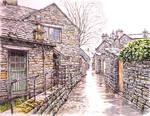 A Wet Day in Grasmere, Cumbria