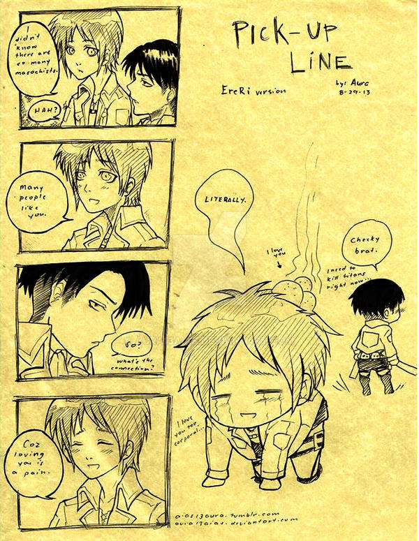 EreRi : Pick-up Line by aura13aias