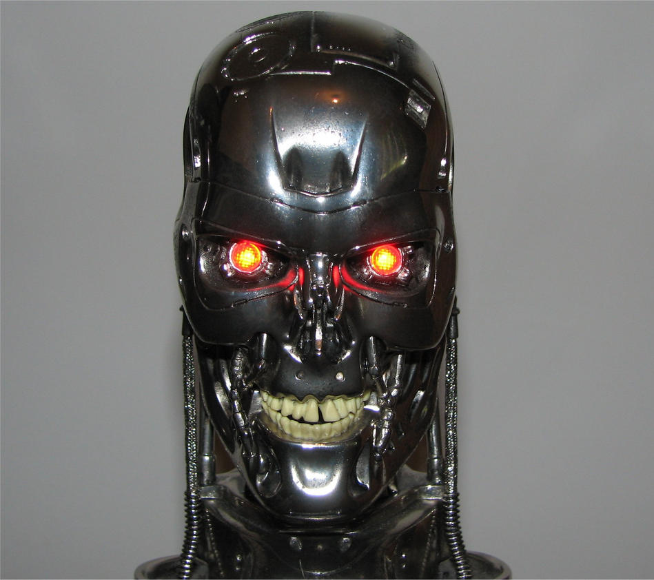 Terminator Skull by jkno4u
