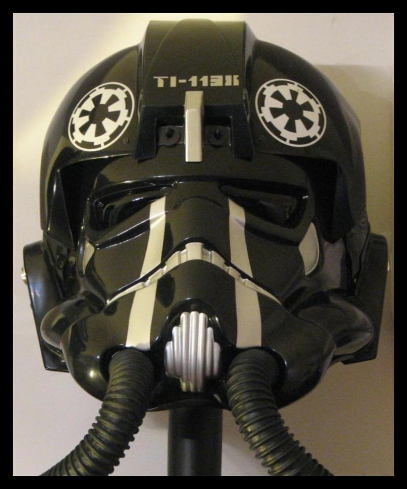 TIE Fighter Pilot helmet (elite) by jkno4u