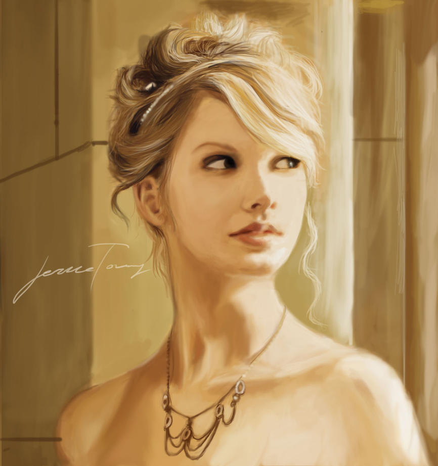 taylor swift digital painting by jericoooo on deviantart