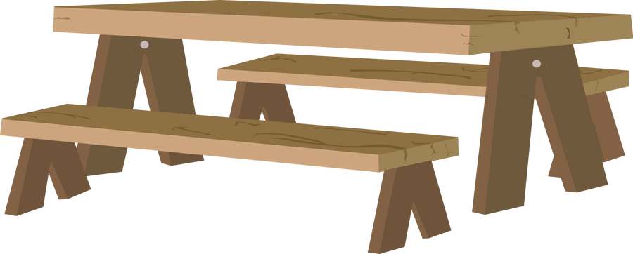 Wood Picnic Table For Kitchen