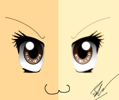 Anime Eyes - Attempt 2