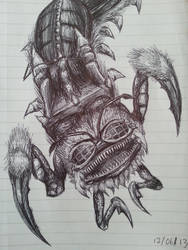 Insect Monster Giant Thing by Jakeiiii