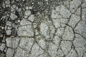 Cracked Pavement V by Delia-Stock